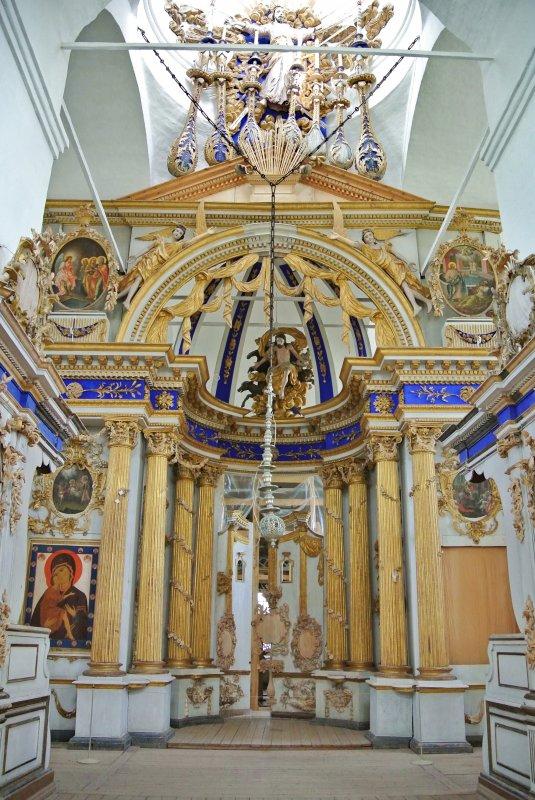 Внутреннее убранство Спасо-преображенского собора
