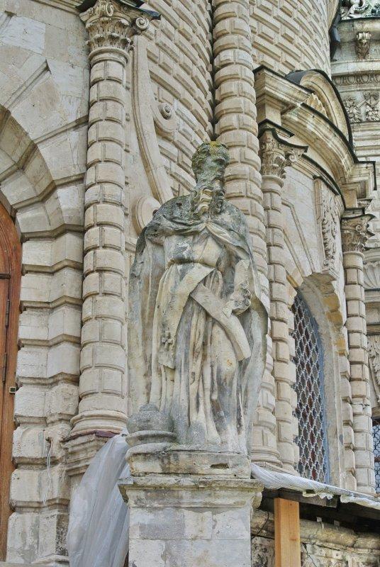 Скульптура Иоанна Златоуста