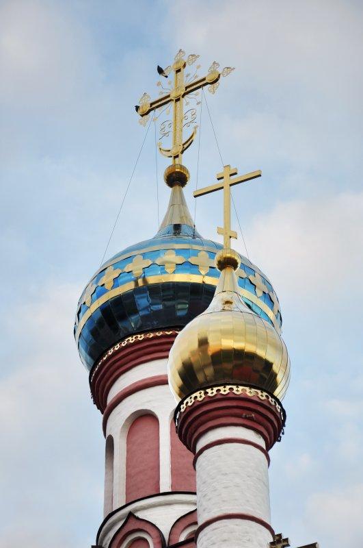 Купола Знаменской церкви