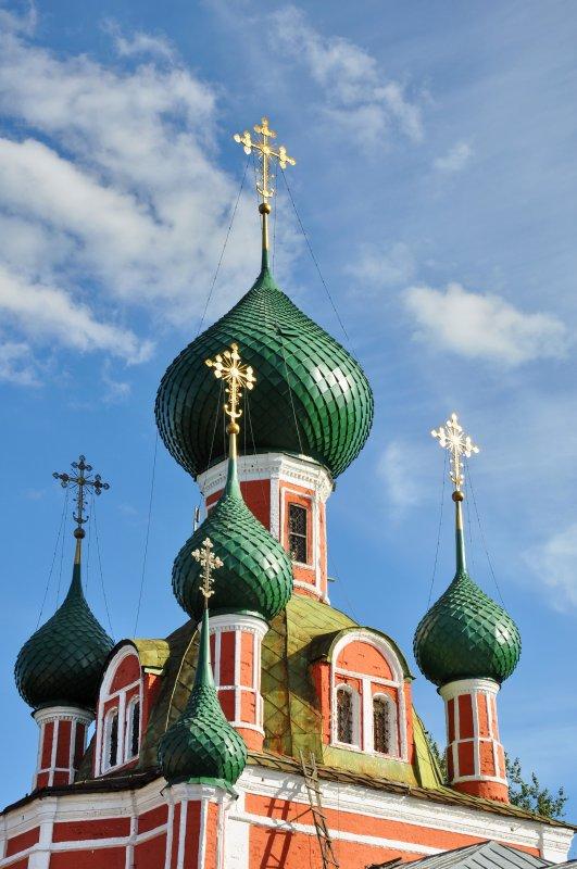 Купола Владимирского собора