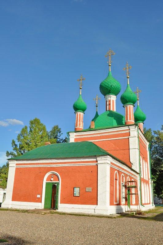 Церковь Александра Невского, 1740-е гг.