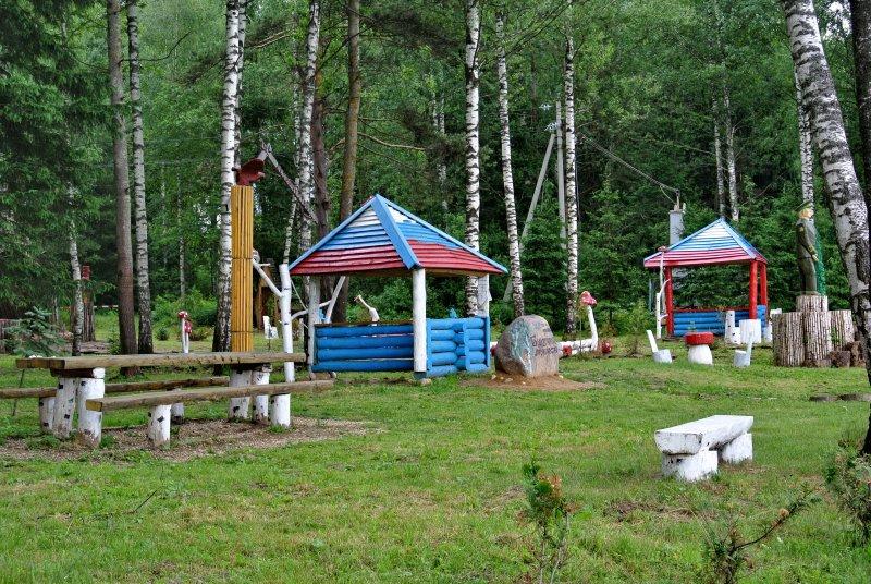 Зона отдыха у истока Москвы-реки