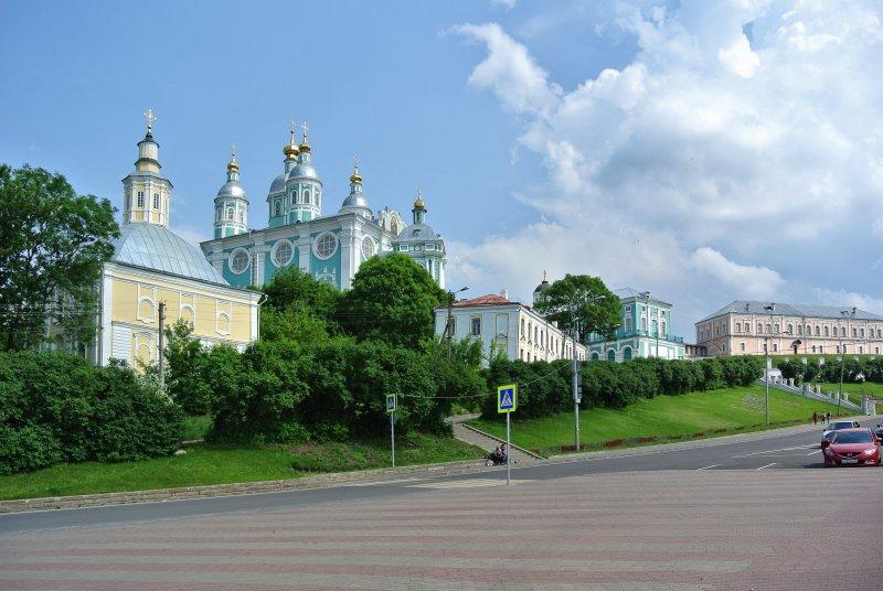 Благовещенская церковь и Успенский собор