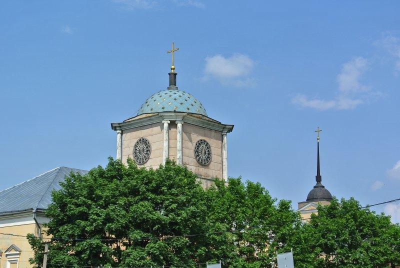 Купол церкви Смоленской иконы Божией Матери (Днепровские ворота)