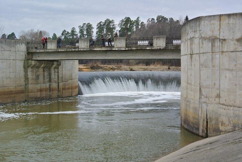Ярополецкая ГЭС на реке Лама