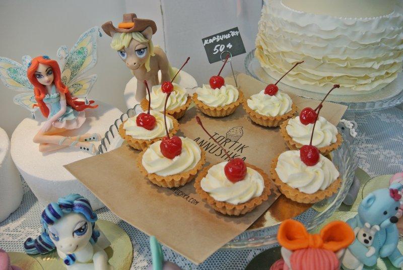 Тортики и съедобные фигурки