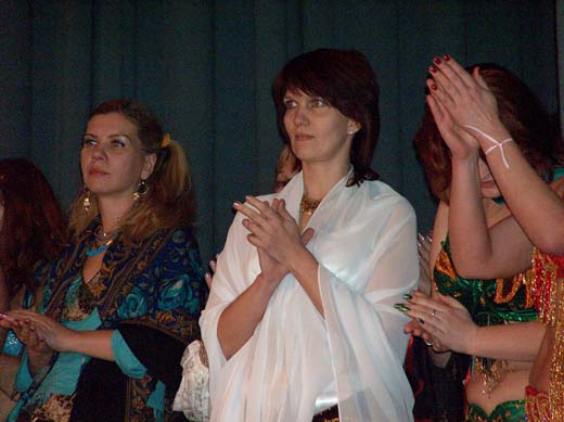 Хабиби на фестивале в Даугавписе, 10 февраля, 2007 г.