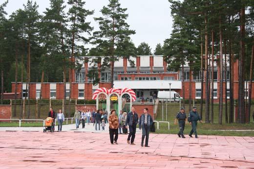 День Города Висагинаса, август, 2006