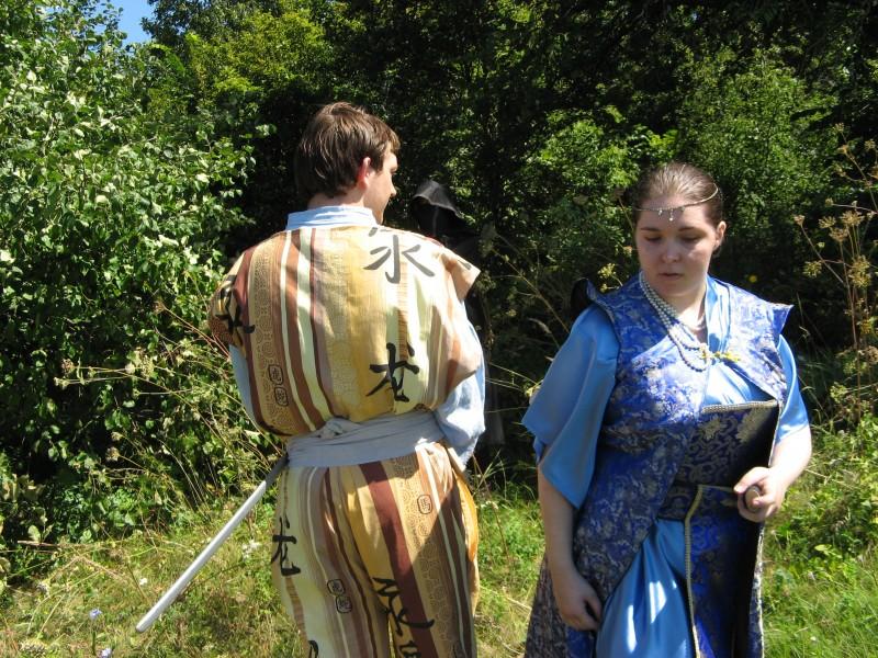 Тэннэ Мирано, король Этаро (Кир), Дейри Кайса, леди из провинции (Сетсуна)