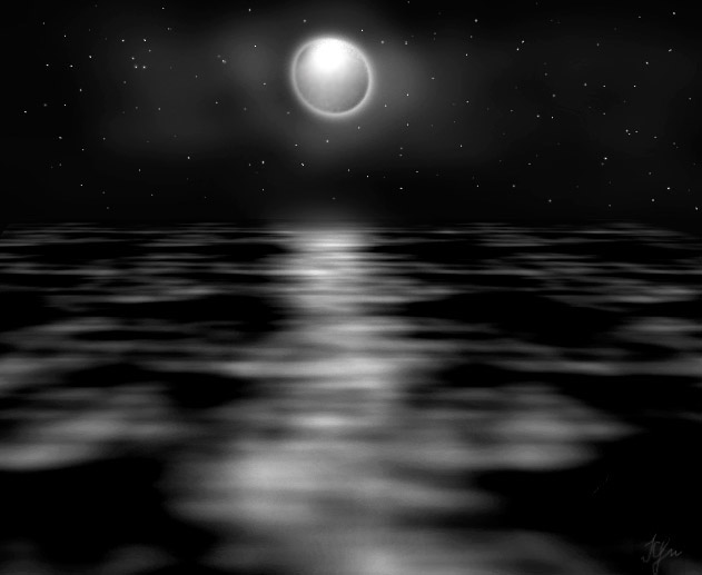 Жемчюжина - луна.