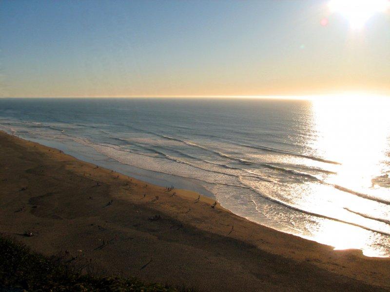 Тихий океан. Он же Pacific ocean.