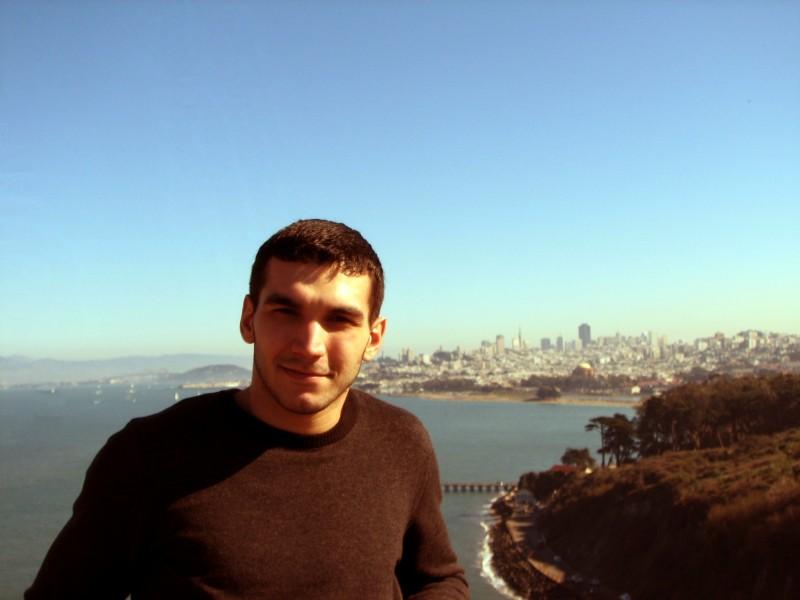 The World Is Yours! Сан-Франциско греется в лучах зимнего солнца... И не только он =)