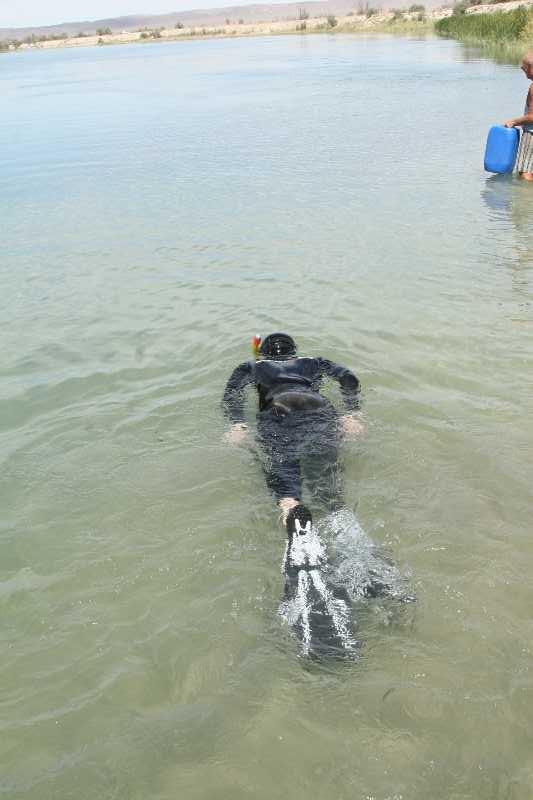 Подводная охота на Или