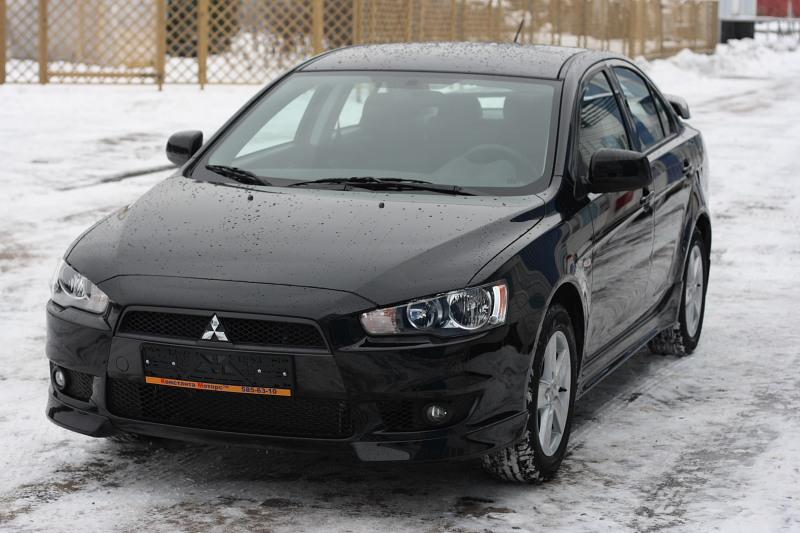 Mitsubishi Lancer X 2.0 Intense CVT S01 Черный