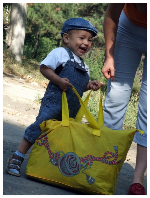 Child with a bag №9278