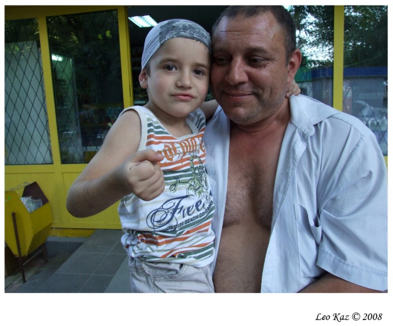 Father with a child №9407