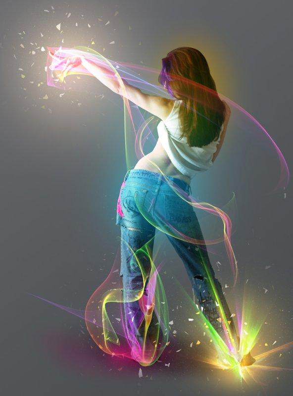 ... новогодний танец ...