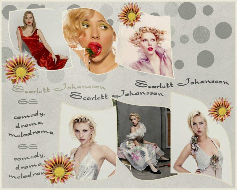 ... Scarlett Johansson ...