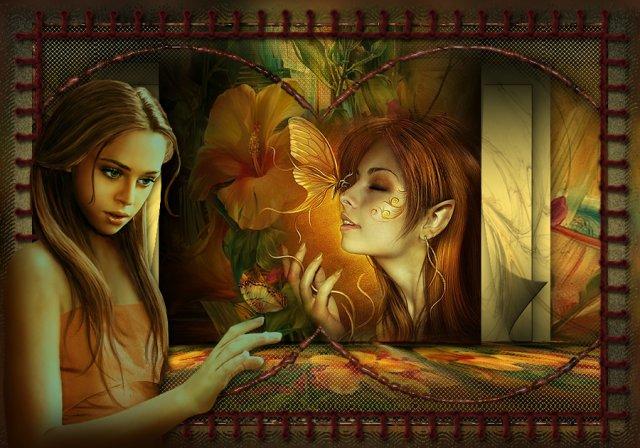 Как призрачна она, бабочка на моей руке, словно чья-то душа!