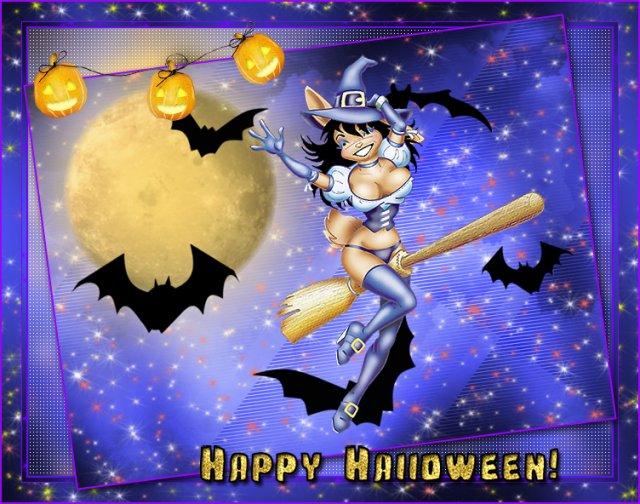 Праздник есть чудной один, звать его Хэллоуин ...
