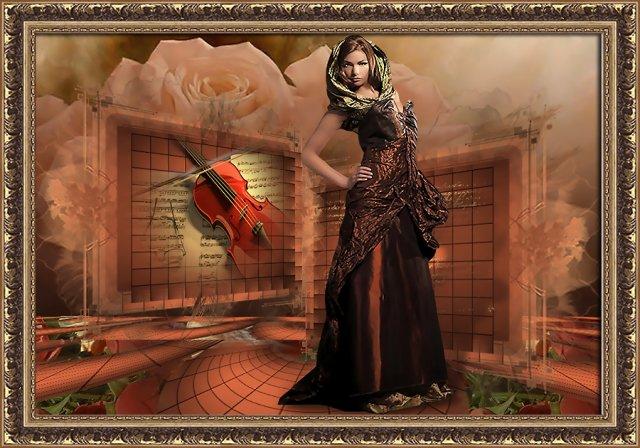 ... скрипка ...