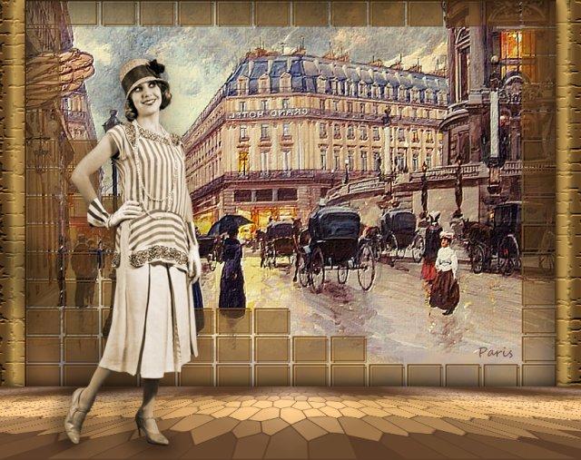 ... я снова в Париже ...