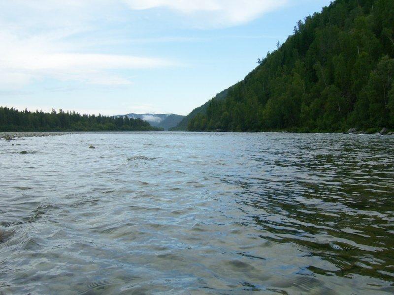 сплав с рыбалкой на реке Абакан_август 2009г.