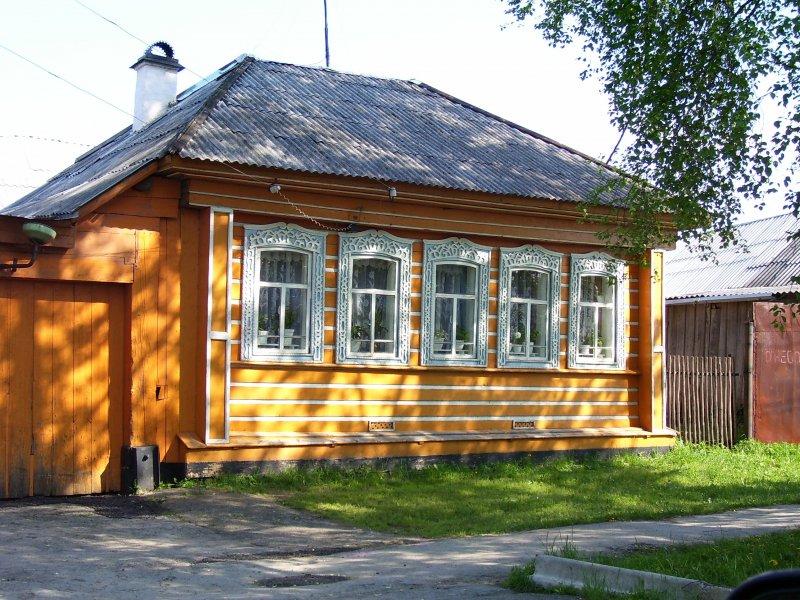 резные наличники в д. АТИГ, Свердловской обл.