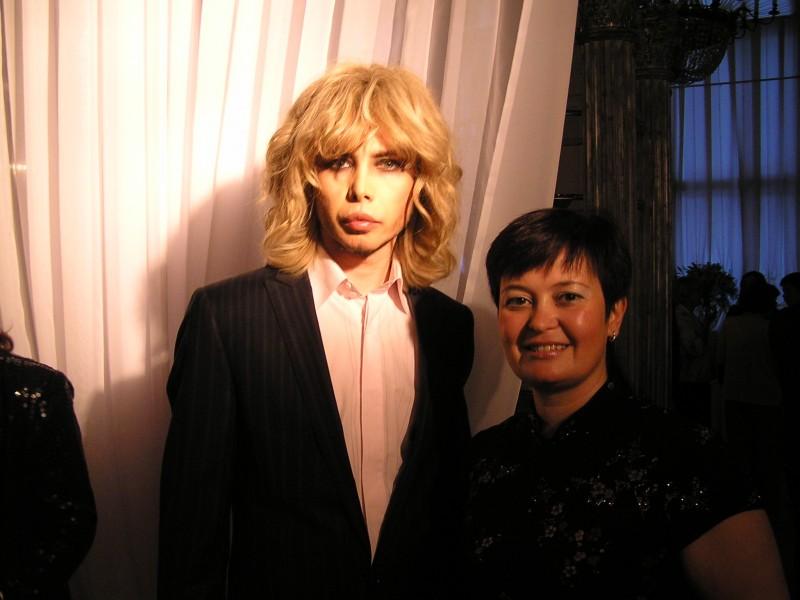 Сергей Зверев и Таня