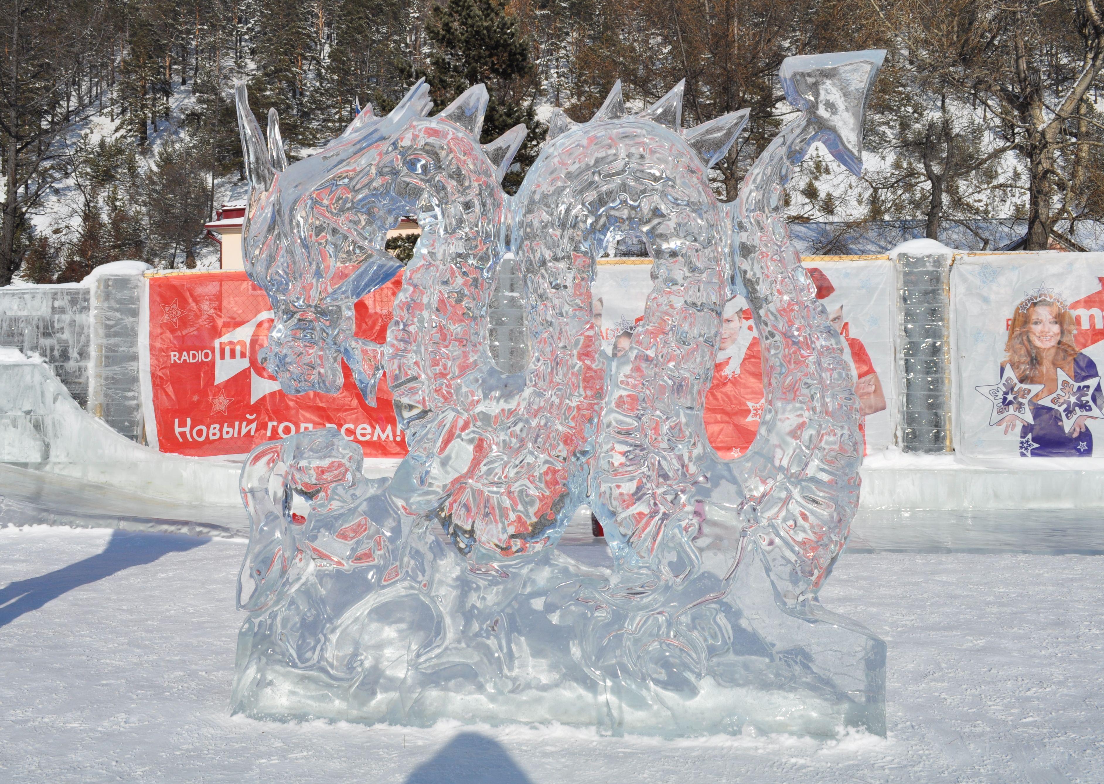 Поделки своими руками из льда и снега