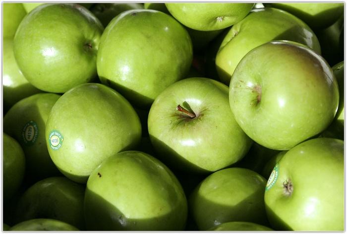 яблоки...