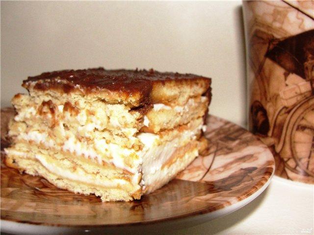Тортик печенья рецепт фото