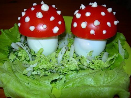 Фаршированые грибы