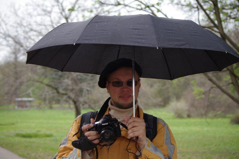 фотоохота под дождём