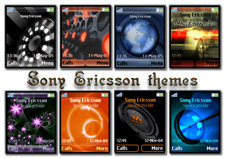 Анимированные темы для Sony Ericsson (176x220-128x160)