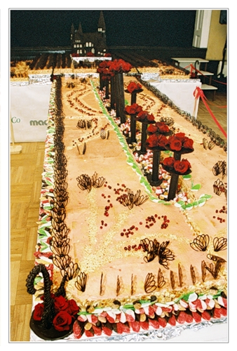 Кусочек праздничного торта