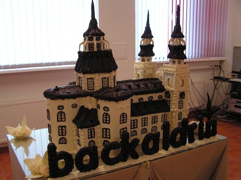 Кафедральный собор Зальцбург - из Шоколада