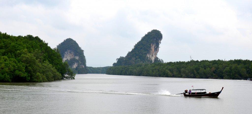 Устье реки в соседней провинции