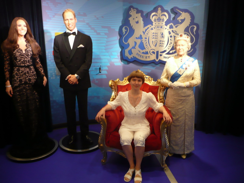 неплохо вписываюсь в королевскую семью