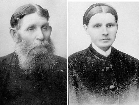 Купец И.В.Бердинский с супругой, крупный уржумский лесопромышленник
