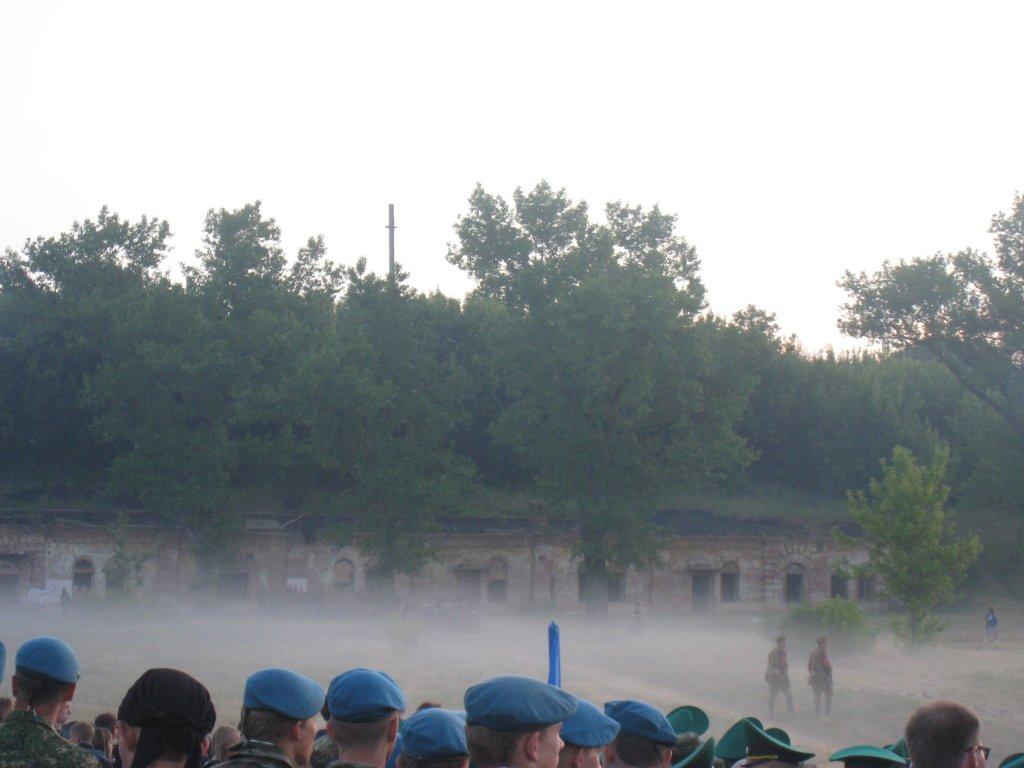 22 июня 2015, военно-историческая реконструкция событий первого дня начала войны