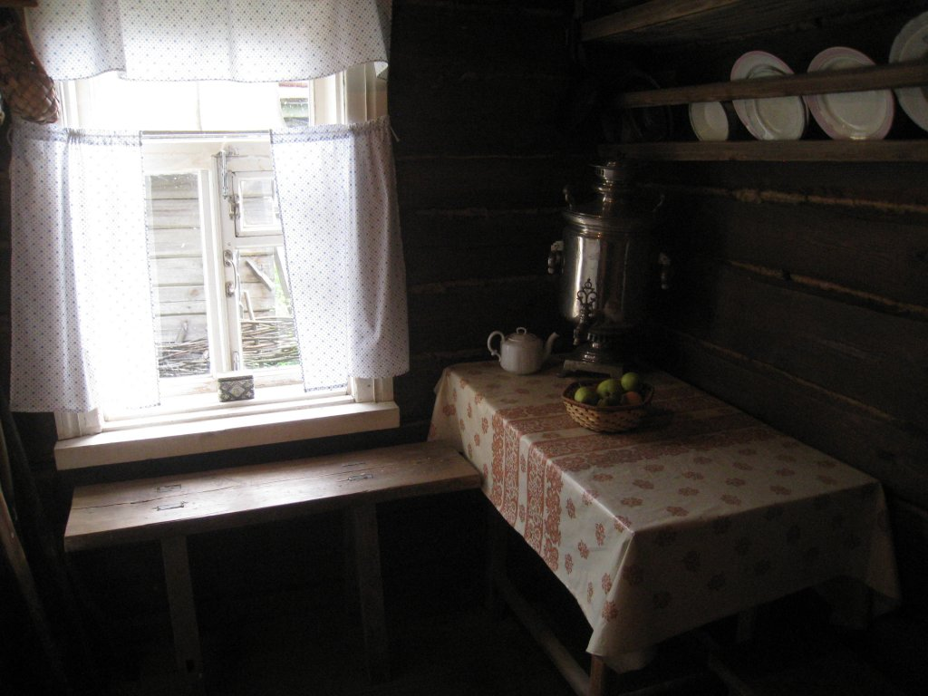 в доме музее Сергея Есенина
