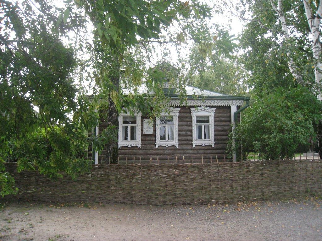 дом-музей Сергея Есенина в Константинов