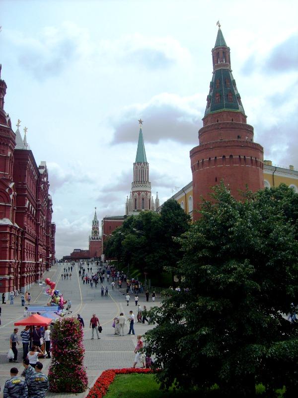 Москва, август