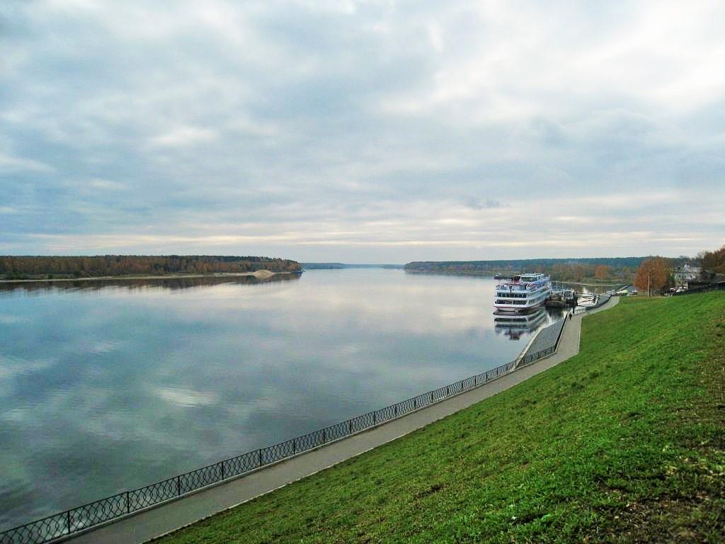 Мышкин, Волга