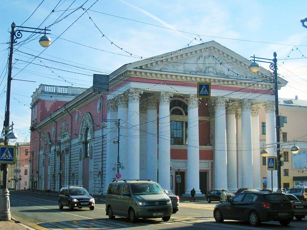 Тверь, областной драматический театр