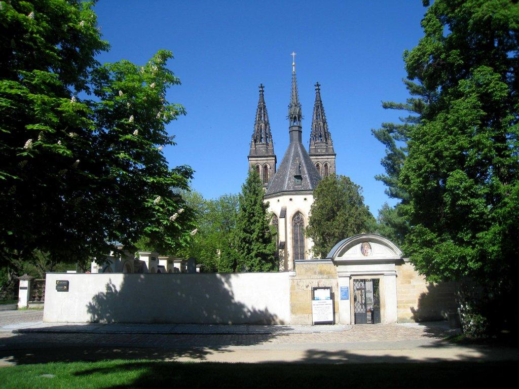 Прага, Вышеград, собор св. Петра и Павла