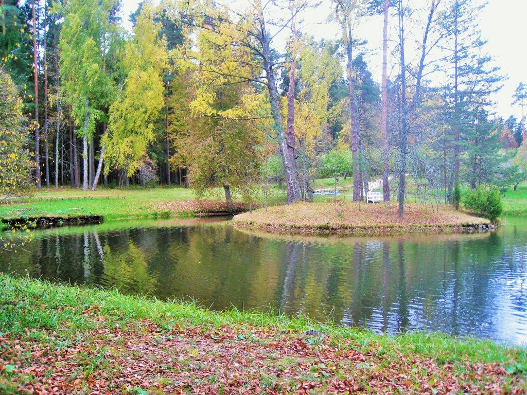 Михайловское, в парке