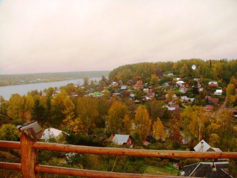 Плёс под сентябрьским дождем