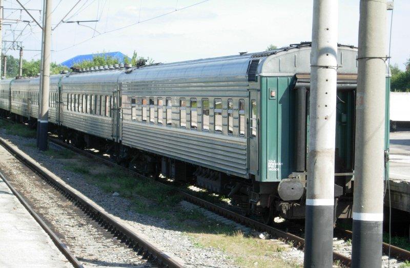 зеленые вагоны